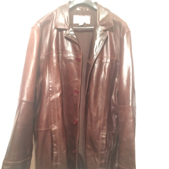 cf328f92 Wilsons Leather Jackets & Coats | Mens Vintage Wilson Brown Leather ...